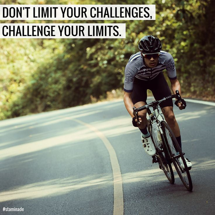 Don't limit your challenges. Challenge your limits. ‍♂️