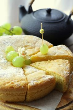 Torta sofficissima all'uva