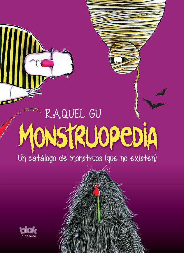 'Monstruopedia', my new illustrated children's book about not so scary monsters ;) Published by B de Blok (Ediciones B) last march (2016). This is the Spanish edition's cover. For more info have a look at http://www.edicionesb.com/catalogo/autor/raquel-gu/1247/libro/monstruopedia_3950.html