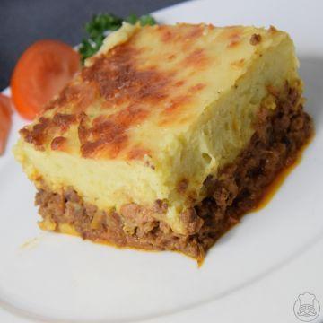 Hachis parmentier - Mleté maso zapečené bramborovou kaší, jednoduché a dobré