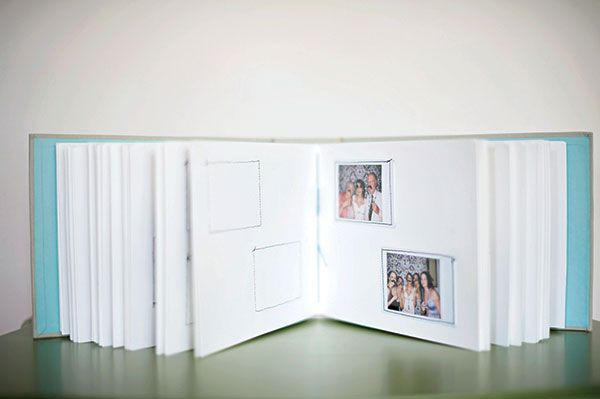GUEST BOOK: 13 Ideas.  My favorites are guests create scrap book pages from photo booth pictures, giving advice, writing memories, having a map for guests to mark where they traveled from, favorite songs, and/or mad libs.