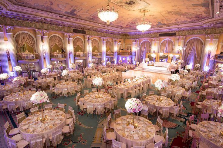 Millennium Biltmore Hotel Wedding Reception | Exquisite Events