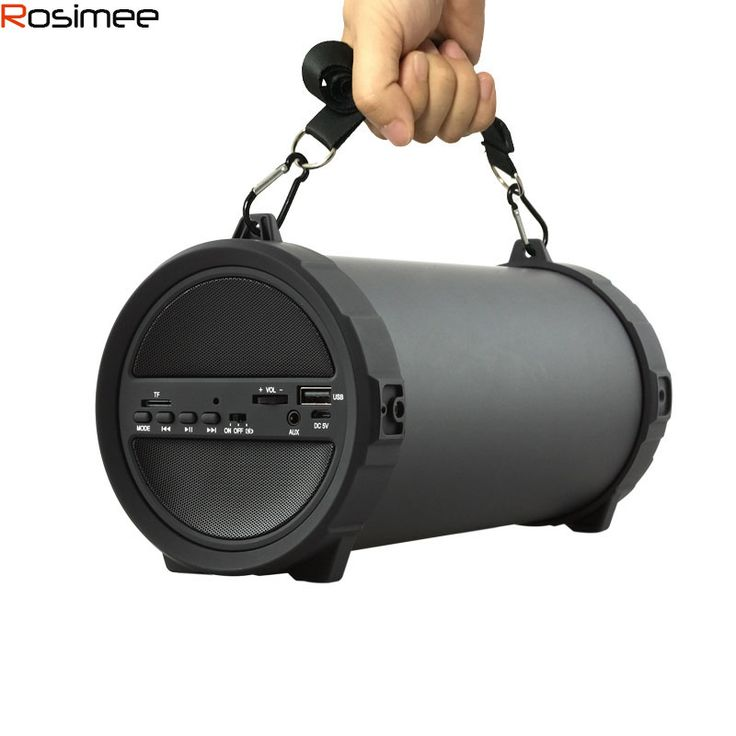 89mm Big Bass Outdoor Bluetooth Speaker Wireless Sports Portable Subwoofer Bike Car music Speakers Radio FM Mp3 player