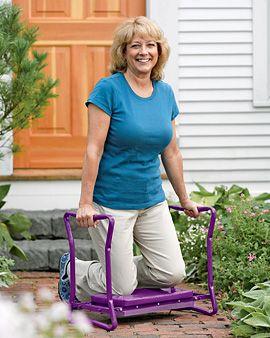 Deep-Seat Garden Kneeler, yes, getting old