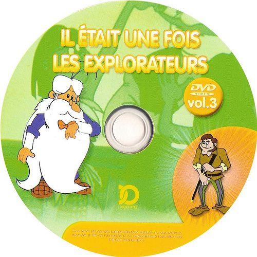 il etait une fois les explorateurs - Dvd 03