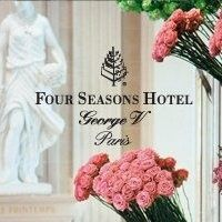 Four Seasons George V Paris... Favorite hotel that I have been to thus far