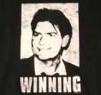 Charlie Sheen Winning T-Shirt Logo
