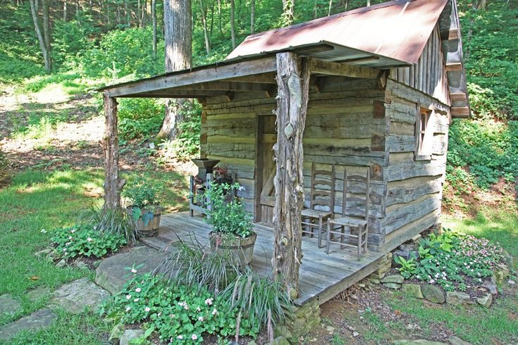 1686 best images about inside small log cabins on pinterest cabin porches log furniture and - Appalachian container cabin ...