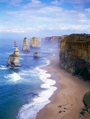 The 12 Apostles – Great Ocean Road, Australia                                                                                  Someday!
