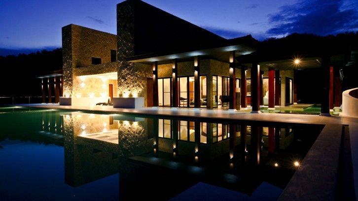 Europäisches Design mit thailändischen Akzenten: Eine ungewöhnliche Luxusvilla in Hua Hin/Thailand steht zum Verkauf