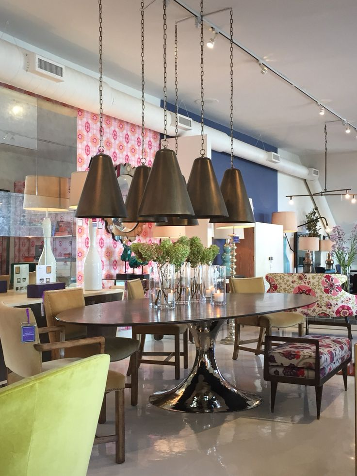 Julian Chichester Showroom , High Point Furniture Market , October 2014 .  Corner Of