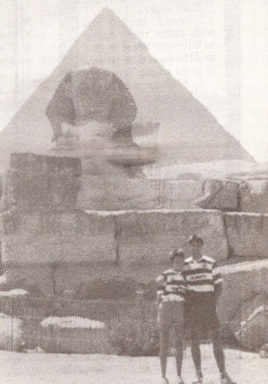 """What better setting for the Hoops than The Valley of the Kings? Average Joe Miller reliably informed us that during his visit he got one of the local guides to translate the hieroglyphics in the tomb of King Tut. """"Come On You Bhoys in Green"""" apparently."""