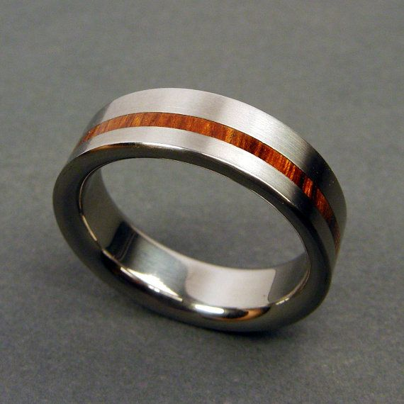 Just in case I ever lose or damage my wedding ring.  This is a titanium version from Etsy.