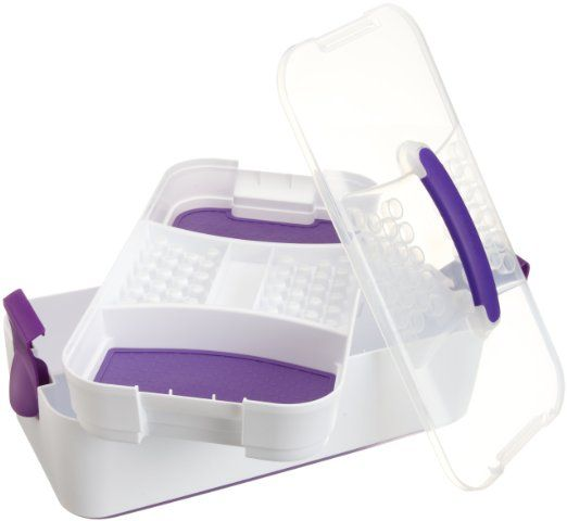 $32  I wonder if Michael's or Hobby Lobby has them cheaper via %40 off mobile coupon. Amazon.com: Wilton Decorate Smart Decorator Preferred Tool Caddy: Kitchen & Dining