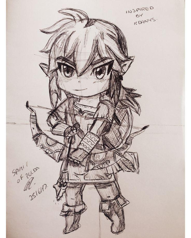 Hero of Hyrule inspired by Rdanys // @spirit_of_zelda (instagram)