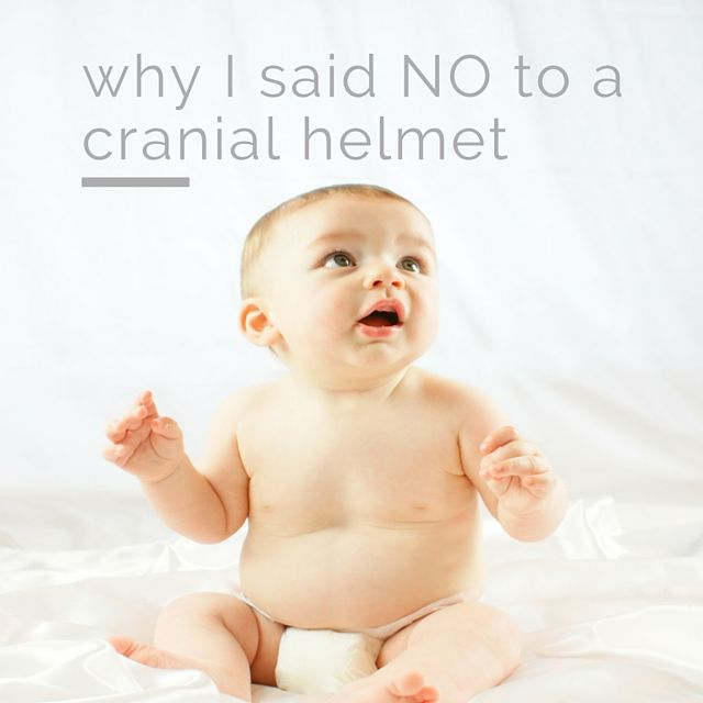Saying No To Cranial Helmets And Doc Bands With