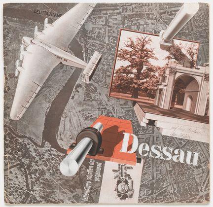 "»Dessau«, c. 1930, Size: 9 1/16 x 9 1/4"" (23 x 23.5 cm), Designer: Joost Schmidt (1893 – 1948)."
