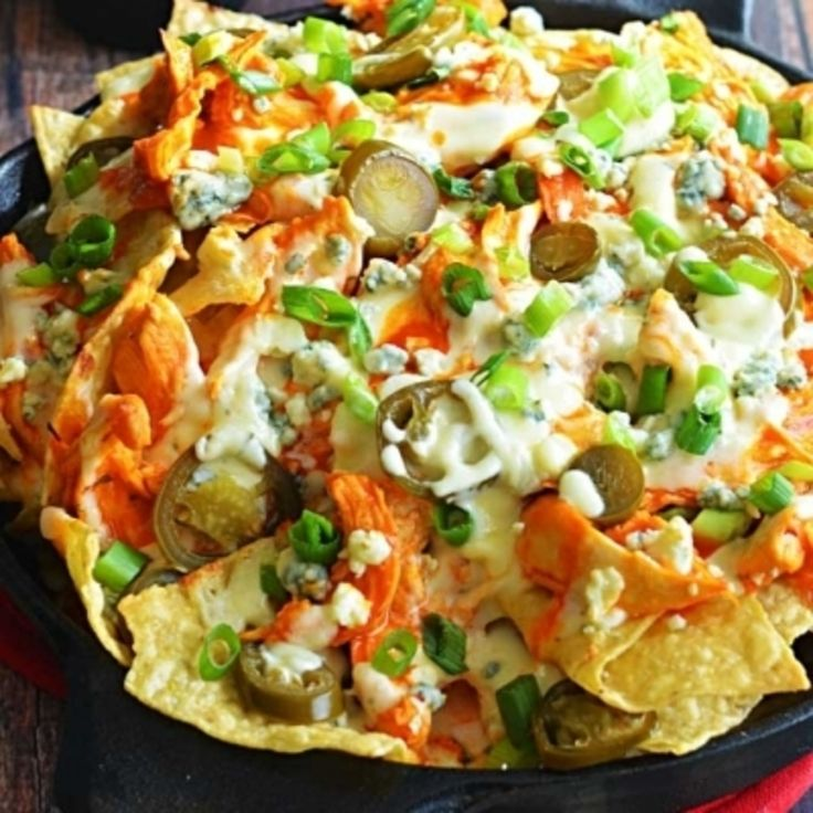 7 #Nacho Recipes to Dish out #during Sunday #Football Games ... → #Food [ more at http://food.allwomenstalk.com ]  #Pound #Nachos #Tortilla #Shredded #Chips