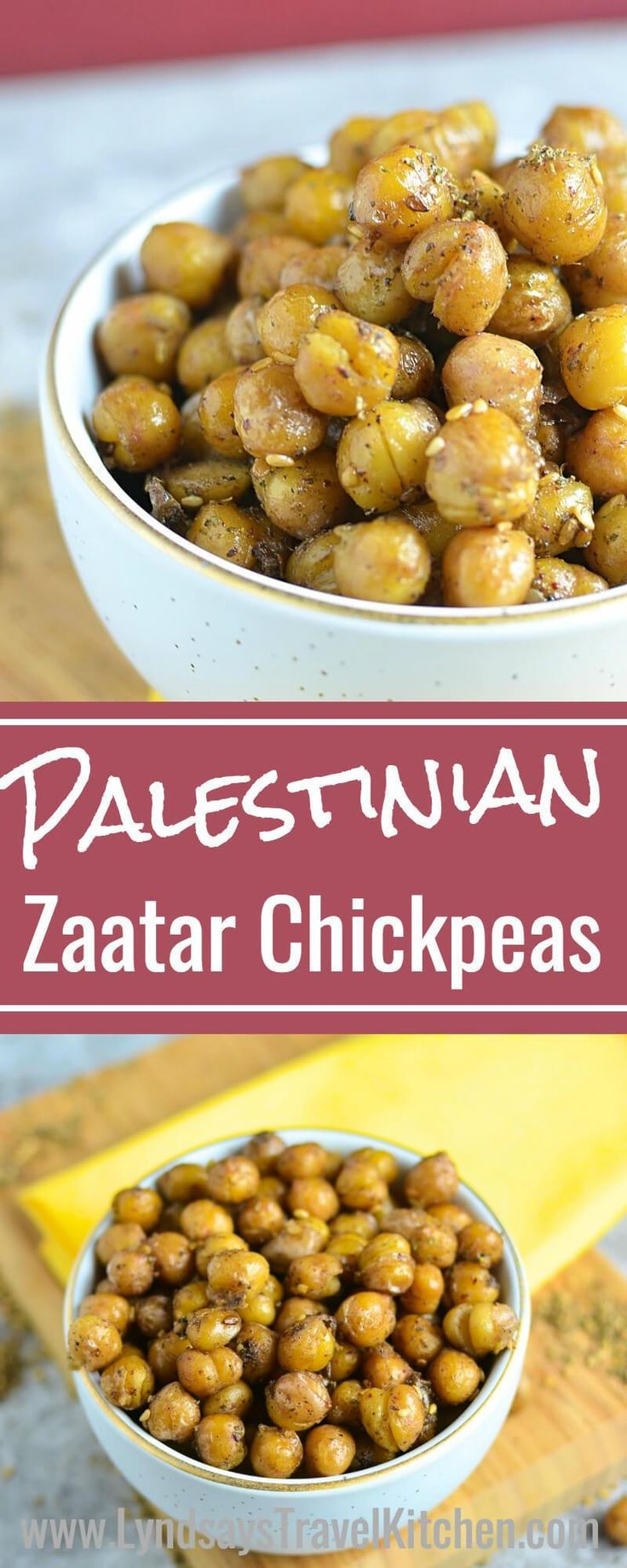 Learn how to make this Middle Eastern Snack, Roasted Chickpeas from Palestine. T…   – Spoon, Knife & Fork