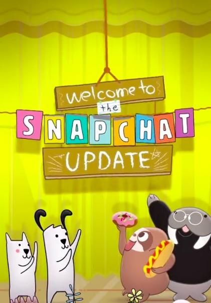 snapchat update 2016 how to get chat 2.0 features new effects ios android iphone
