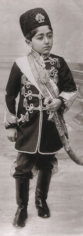 Soltan Ahmad Shāh Qājār, 1898 – 1930, Shah of Persia from 16 July 1909, to 31 October 1925, and the last ruling member of the Qajar dynasty. Ahmad Shah ascended to the Peacock Throne on 16 July 1909, following the overthrow of his father and predecessor, Mohammad Ali Shah, who had attempted to reverse earlier constitutional restrictions on royal power, and thus enraged the majority of Persians.