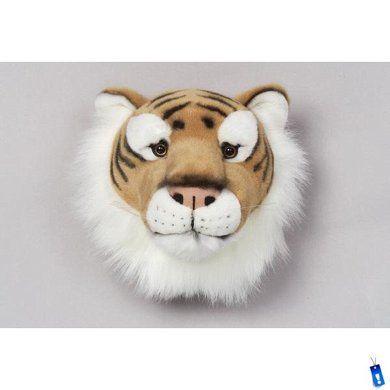 bibib dierenkop pluche tijger