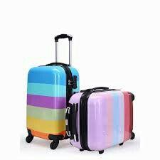 moda ve trend renklerde bavul çeşitleri #bavul #valiz #çanta #luggace #suitcase #travel