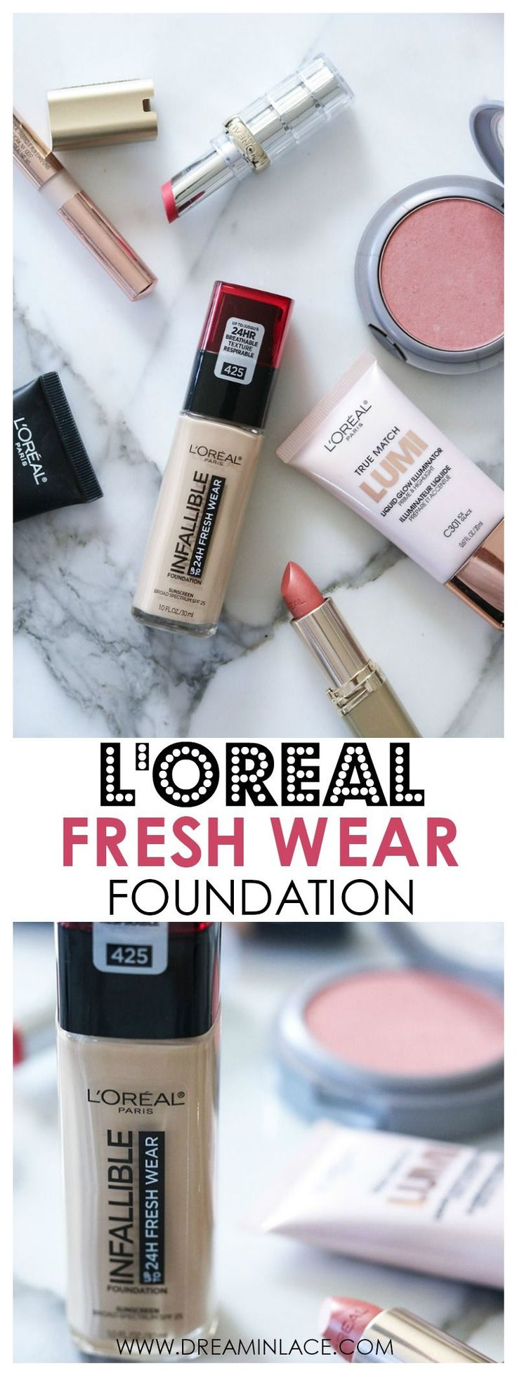 Loreal Infallible Fresh Wear Foundation Review I