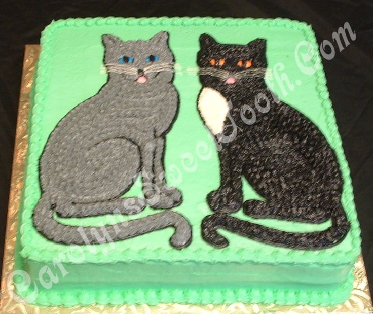 337 Best Cat Cakes Images On Pinterest