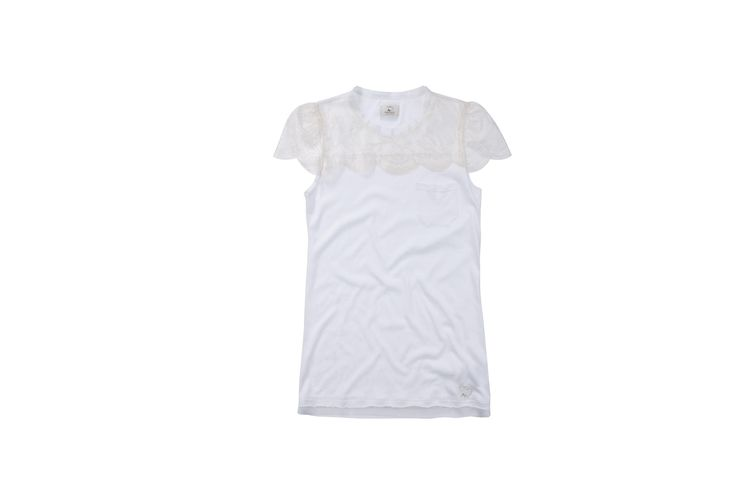 #maisonespin #tshirt #outfit#chic #biancocandore#white#springsummercollection13 #womancollection #top #lovely #MadewithLove #romanticstyle #milano#clothing #shopping #iloveshopping