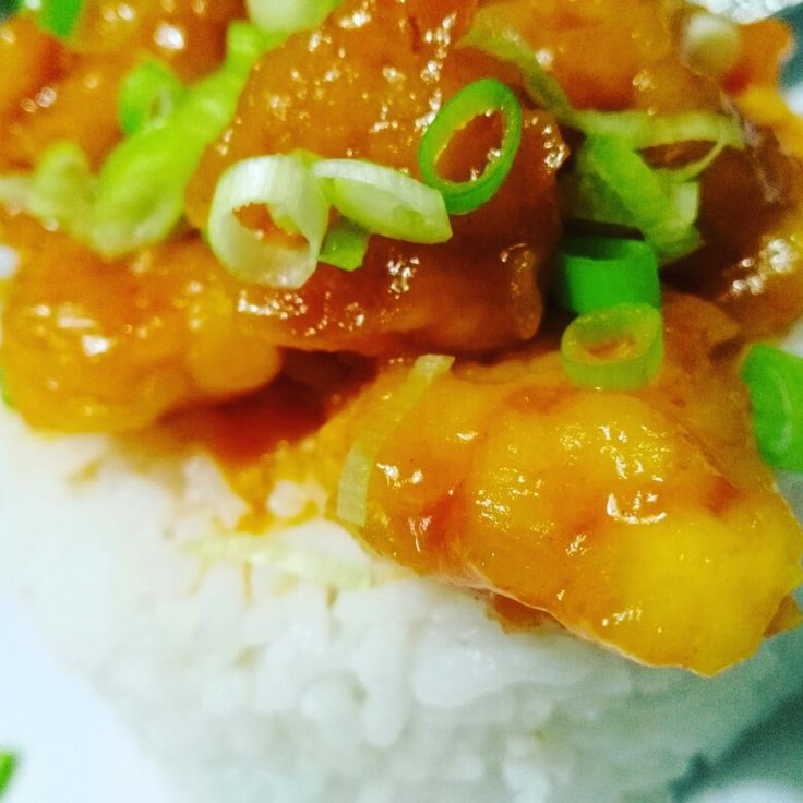 Sweet and sour chicken rice by waroeng_wadjan
