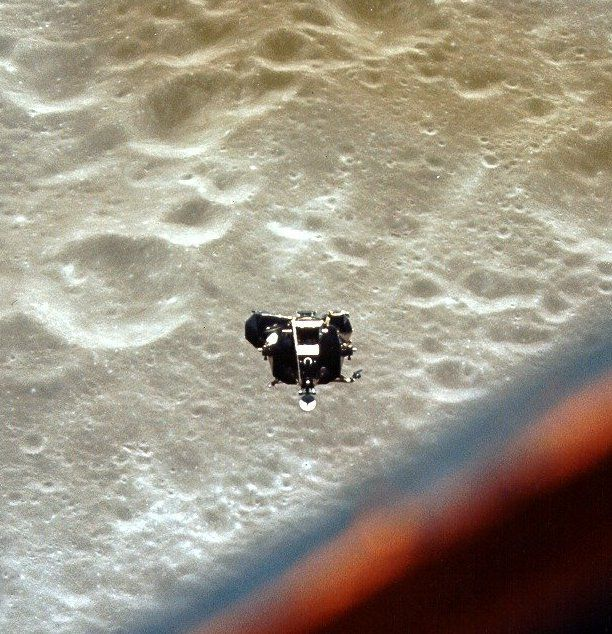 """In May 1969, while passing over the far side of the Moon, the crew of Apollo 10 heard something strange. Cut off from contact with Houston back on Earth, the three of them were alone, listening to what they described as """"outer-space type music."""""""