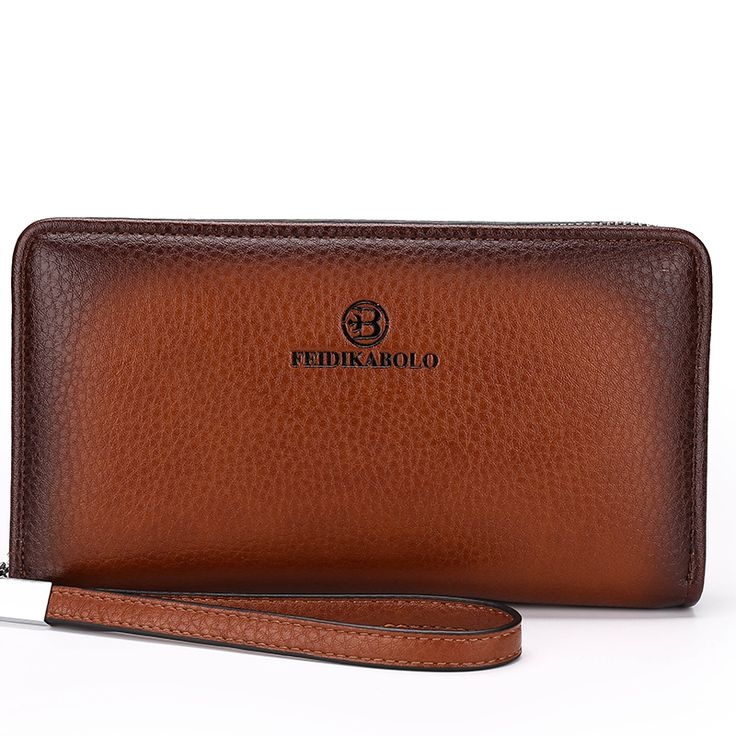 Luxury Male Leather Men's Wallets //Price: $29.95 & FREE Shipping //