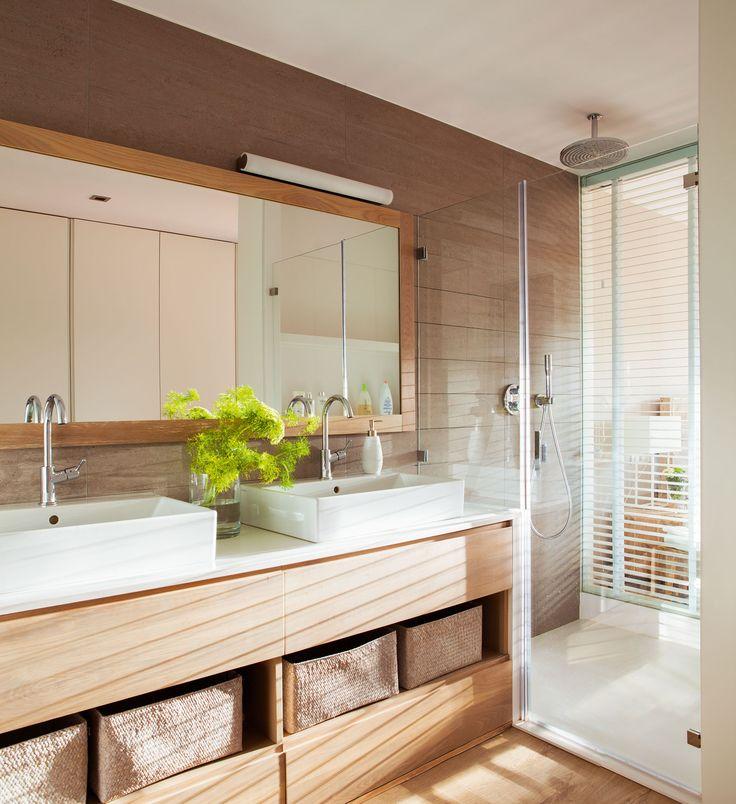 Ba o junto a la habitaci n ducha de silestone zeus extrem for Platos de ducha de silestone fotos