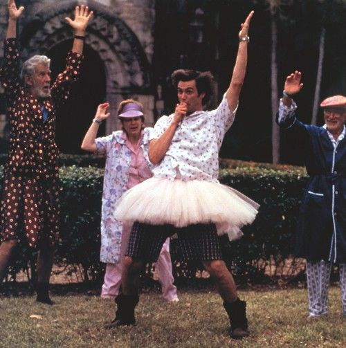 Jim Carrey - Ace Ventura I love him, and this movie!