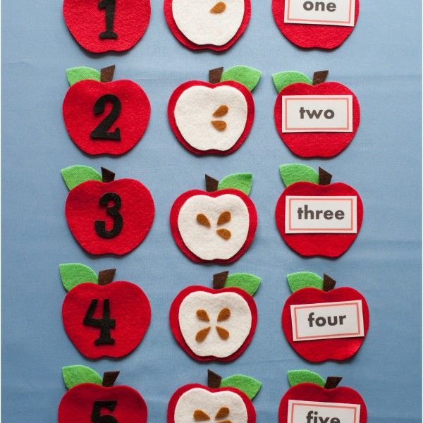 8 best felt board pattern ebooks images on pinterest 5 coin this set can be used to develop countinghow many seeds on each apple counting to five matchingnumerals number word and quantity of seeds fandeluxe Choice Image