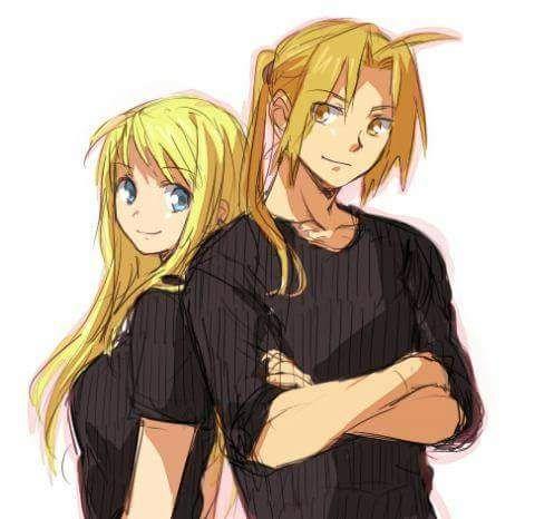 Winry & Ed