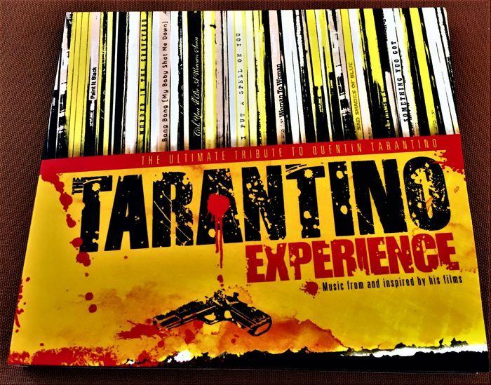 Super Pack Soudtrack Motion Pictures: Tarantino Experience - muziek uit en geïnspireerd door zijn Filmes - de ultieme hommage aan Quentin Tarantino en vele anderen  U vindt hier albums van de bewegende beelden uit mijn privé vintage collectie met prachtige opnamen kijk zorgvuldig:1 - TARANTINO ervaring neem ik-dubbel-ALBUM! Muziek uit en geïnspireerd door zijn films - de ultieme hommage aan QUENTIN TARANTINO (nieuwstaat)2 - TARANTINO ervaring nemen II-dubbel-ALBUM! Muziek uit en geïnspireerd…