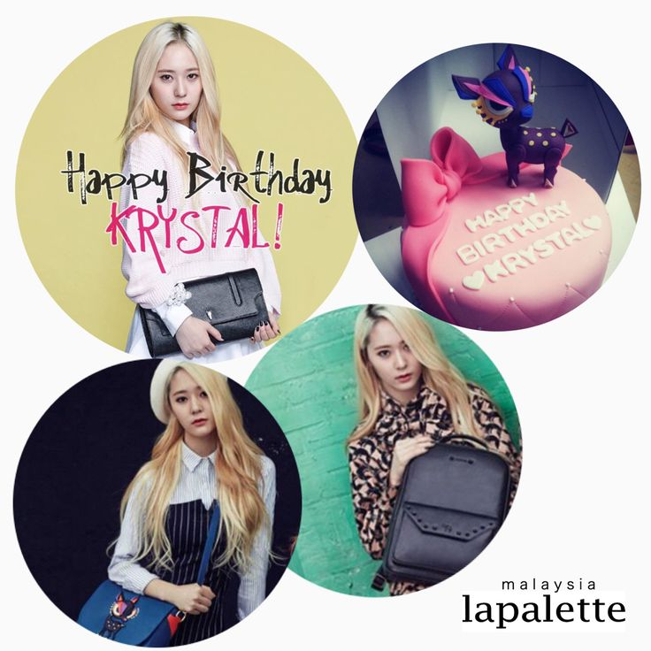 #Happy#birthday to the ever lovable, cute and sassy #Krystal!!   #happykrystalday #krystaljung #f(x) #korea #celebrity #lapalettemalaysia