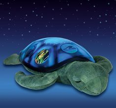 Twilight Sea Turtle is a step up from the ladybug. He has a starry night AND endangered sea animals. As kids get older, what they need from their nightlights may change. Why not make them educational?