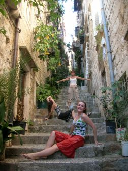 Narrow walkways are great, Croatia