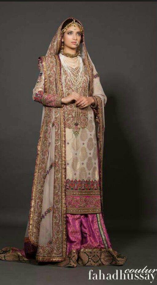 Fahad Hussayn Pakistani Bridal Couture