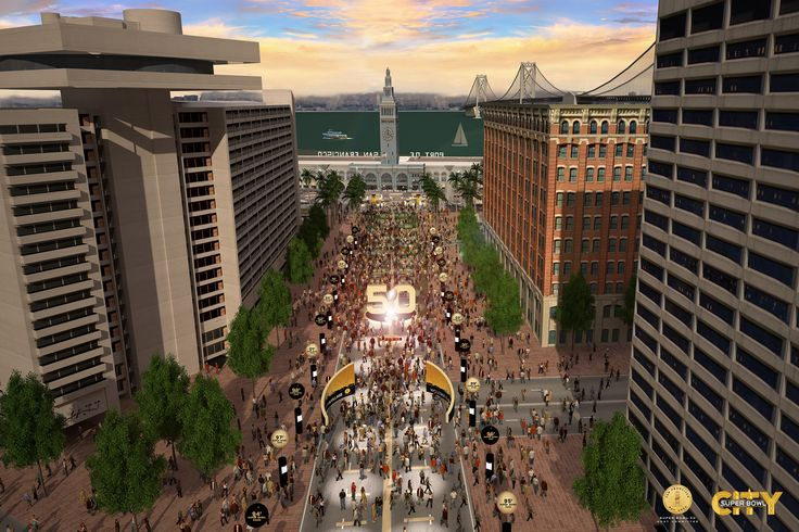 Super Bowl 50: The Plan for Super Bowl City in San Francisco