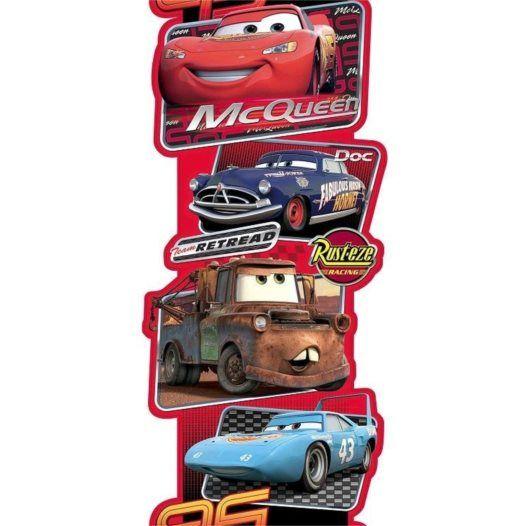 Disney - Cars/Bilar Xxl Wall Sticker 3M