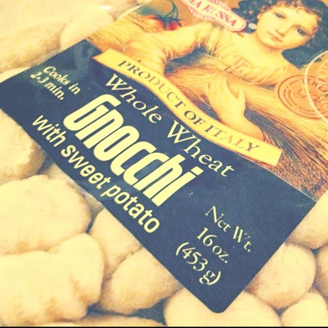 Whole wheat, sweet potato gnocchi.. Yes please, don't mind if I do ...