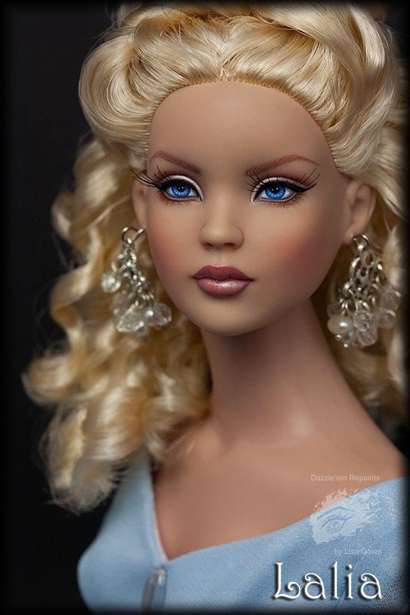 Pin On Ooak Doll Repaints By Lisa Gates Dazzle Em Repaint
