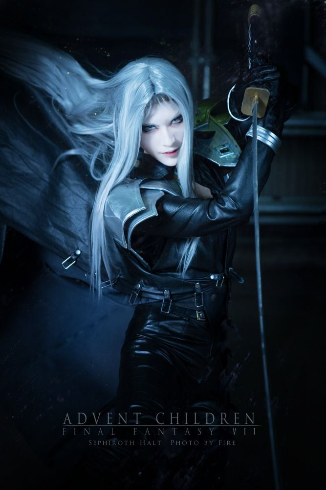 halt Sephiroth Cosplay Photo - Cure WorldCosplay