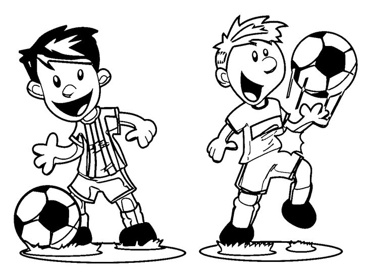 Playing Football Coloring Pages Football Coloring Pages
