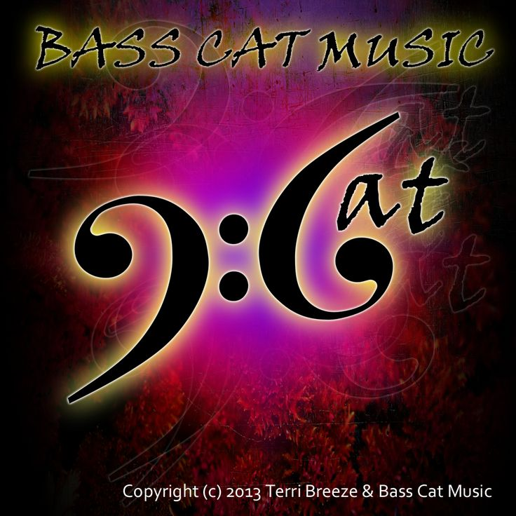 The logo for Bass Cat Music