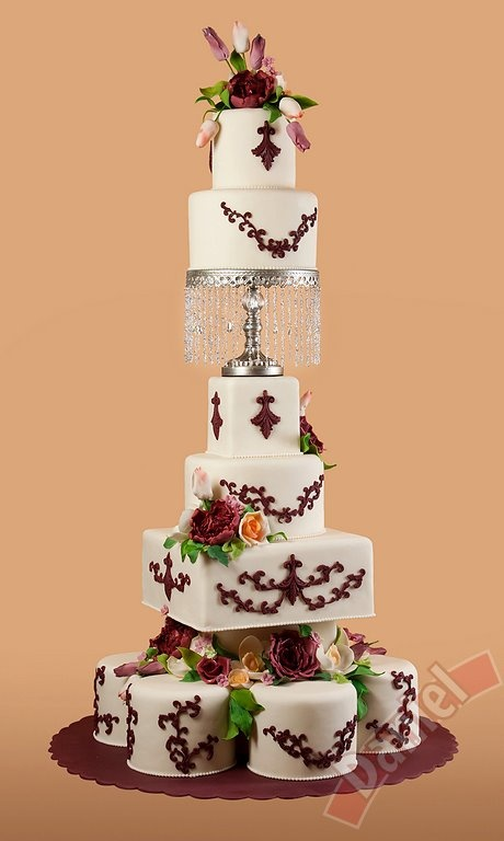 Daniel Satu Mare Wedding Cake